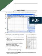 Excel - Ficha de Trabalho 2