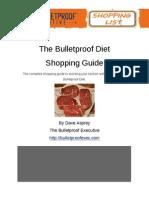 Bulletproof Diet Shopping List Final PDF