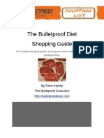 Bulletproof Diet Shopping List Final PDF