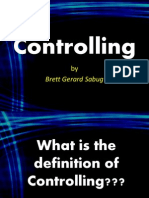 Controlling as Management Function:Basic Characteristics,Types,ProcessDefinition, Theories, Models,