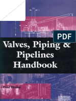 Valves, Piping & Pipeline Handbook