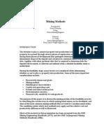 Mining Methods.doc