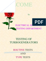 Routine Type Tests
