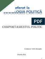 Comportamentul Politic