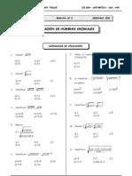 2do. Año - GUIA 2 - Radicación de Números  Decimales (vale).doc