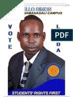 Simons Manifesto for RCC Namasagali campus Busitema University