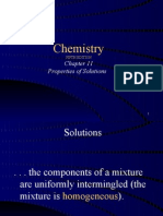Chapter 11 - Vapor Pressure and Gases