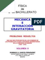 1 4 Mecanica y Gravitacion Problemas Resueltos de Acceso a La Universidad II