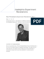 940016 New Philadelphia Experiment Revelation