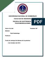 informe electroiman