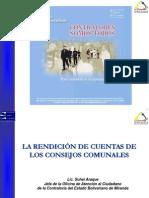 4. Rendici+¦n de Cuentas -11 al 13 julio 2012