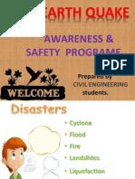 Earthquake Awareness for Students