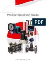 Flowtech Product Selectionguide