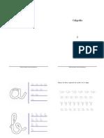 actividades caligrafia