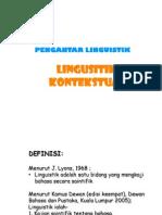 Linguistik-Kontekstual
