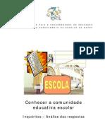 Relatorio Inqueritos EB1JI/Pessoal 200809