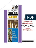 Introduction to Community Organization -Part II - Methods of Community Organization