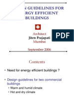 F-Design Guidelines for Energy Effcient Building