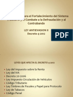 Ley Antievasion II