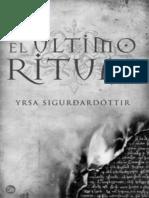 El Ultimo Ritual - Sigurdardottir, Yrsa