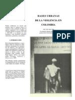 03bases Urbanas de La Violencia en Colombia