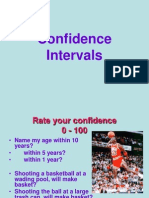 confidence intervals  Unit 8 1
