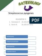 Streptococcus Pyogenesppt