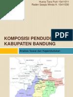 Komposisi Penduduk Kabupaten Bandung