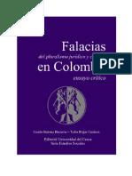 Tulio Rojas y Guido Barona - Falacias Del Pluralismo Juridico y Cultural