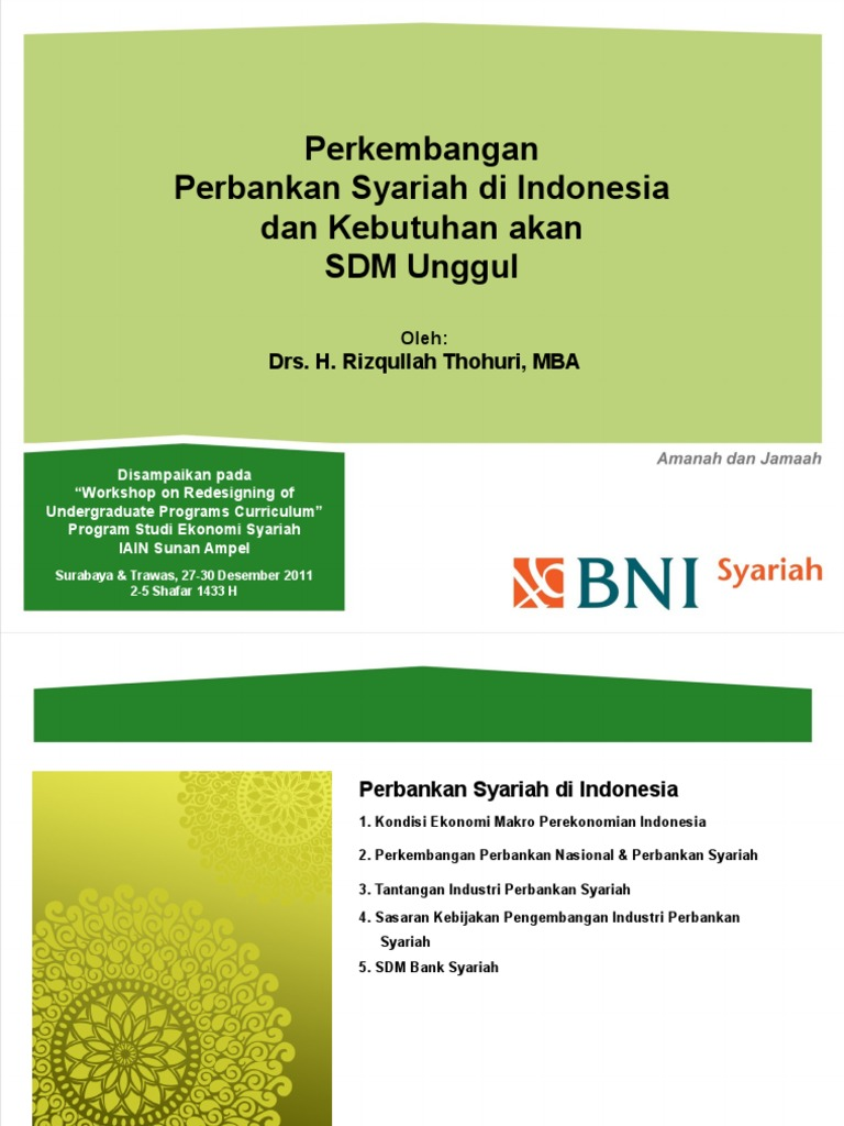 Perkembangan perbankan syariah di indonesia malvernweather Images