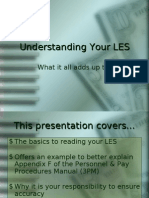 Understanding Your Les