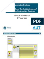 Sample Solution Exercise PLC Programmingplc