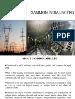 SIP Gammon India