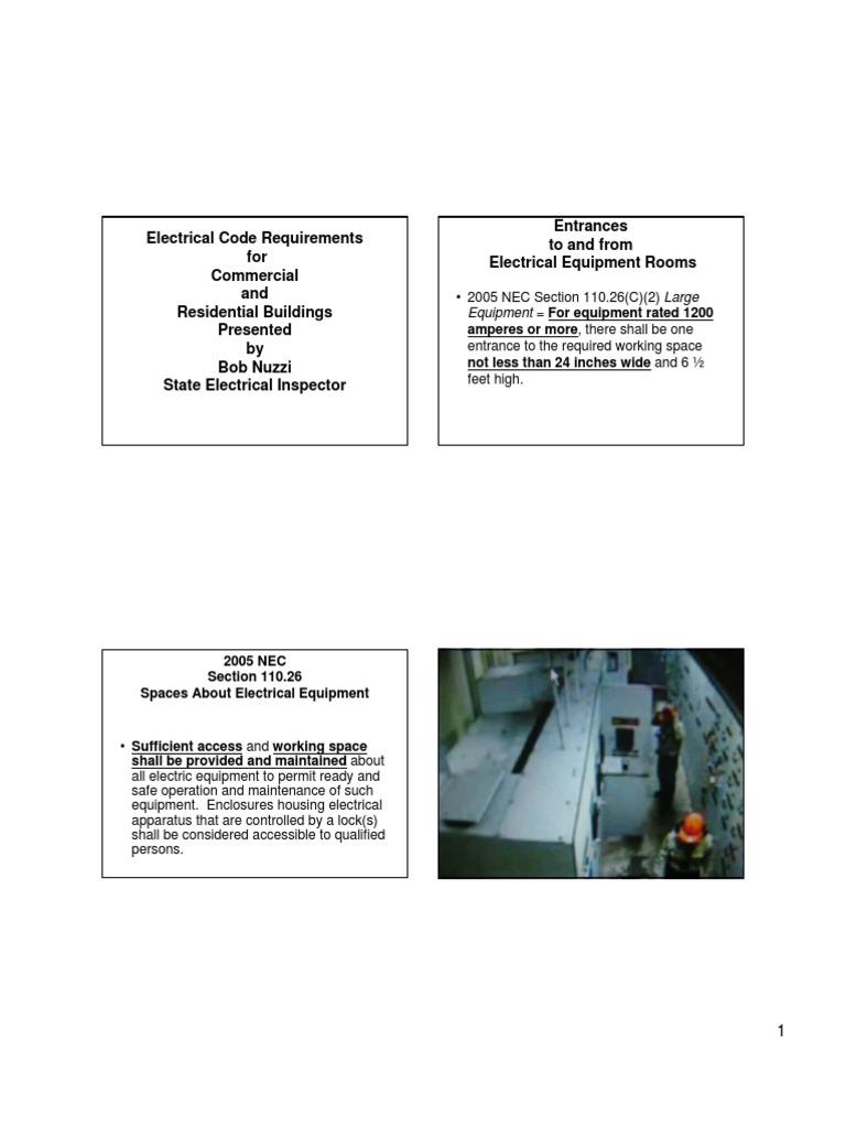 Großartig Residential Electric Code Ideen - Elektrische Schaltplan ...