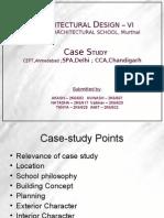 CCA, SPA & CEPT case studies
