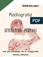 Radiografia de la literatura peruana | Abraham Arias Larreta
