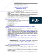 Instructiuni Metodologice Practica FB 2013