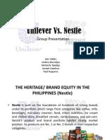 Nestle and Unilever