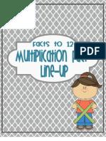 Multiplication Stick Puzzles