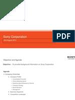 Sony market analysis
