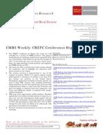 CMBS Weekly 011212