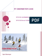 Sport Obermeyer Caseanswers