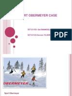 Sport Obermeyer Caseanswers