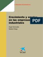 Crecimiento y Empleo en Empresas Industriales