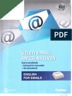 Rebecca Chapman - Üzleti e-mail angol nyelven