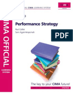 CIMA P3 - Performance Strategy - Official Learning System 2009 (Free Book)