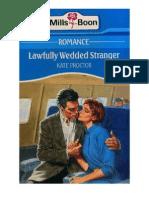 kate Proctor Lawfully Wedded Stranger