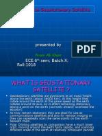 A Seminar on Geostationary Satellite