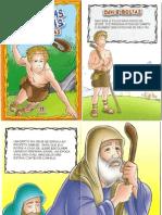 Histórias Bíblicas - Davi e Golias - Ilustrado