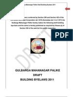 GLB Draft Building Byelaws 2011